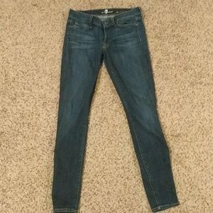 7 For All Mankind Skinny Slim Fit Jean